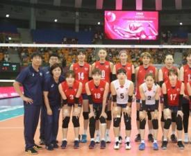 한국 女배구, 카자흐스탄 잡고 5연승...결선행 눈앞