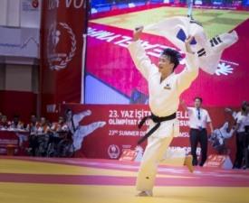 [삼순 데플림픽] 유도 김민석, 남자 81kg급 금메달 획득