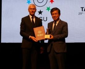 한국체육대학교, 하계 U대회서 '세계 최고 대학' 수상