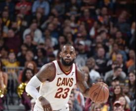 [NBA] '르브론 4Q 16득점' 클리블랜드, 연장 접전 끝 신승