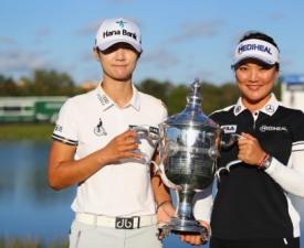 한국 여자 11명, LPGA 올 시즌 메이저 3승에 15승