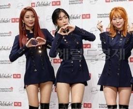 """달샤벳 세리·아영·수빈, 소속사 계약만료 """"해체 의미 아냐"""""""