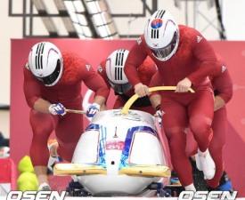 [평창] 한국 봅슬레이 4인승, 아시아 최초 메달 획득