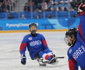 패럴림픽 동메달, 아이스하키 팀도 해냈다