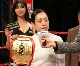 [이호택의 크로스카운터] 언니들의 챔피언, '간호사파이터' 김효선