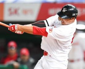 [프로야구] '한동민 4홈런 폭발' SK, 넥센 꺾고 6연패 탈출
