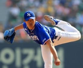 [프로야구] '백정현 8이닝 무실점' 삼성, 두산 꺾고 5연승