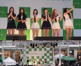 여자친구, 2배속 댄스로 열도 공략…日데뷔 기념 '라이브 공연 하이터치회' 성공적