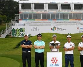 [한국오픈 포토] 명예의 장소로 돌아온 다섯 선수들