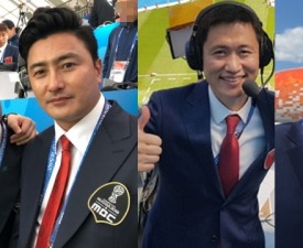 [방송 잇 수다] '월드컵 해설' 안정환vs이영표vs박지성…1주차 성적표는?