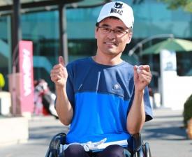 [한국오픈 화제] 휠체어 탄 갤러리 이강연 씨