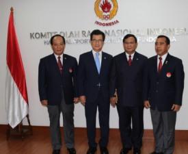 [자카르타 A게임] 인도네시아 유력 대선후보, 국가무예마스터십위원장 위촉