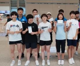 [스포츠 사진 한 장]  아시아 주니어-카테트 탁구선수권, '6개 메달 땄어요'