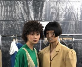 모델 김다영·차수민, '푸시버튼' 박승건 디자이너 첫 런던 컬렉션 한국인 뮤즈 발탁