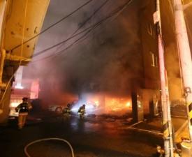 김해 원룸 화재,우즈벡 어린이 4명 '안타까운 사망'