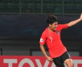 [U-19 챔피언십] '전세진 결승골' 한국, 요르단에 3-1 승리...대회 첫 승