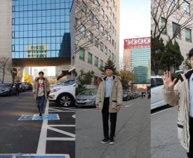박시환, 스케치북 출근길 사진 화제…훈훈한 매력 발산