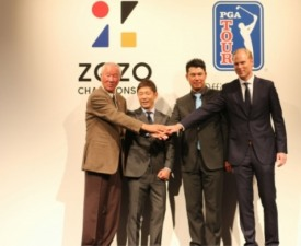 '공동 개최'를 따낸 일본의 PGA투어 조조챔피언십
