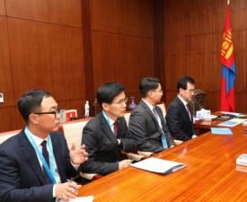 이시종 충북지사, 몽골 대토령 만나 세계무예마스터십 몽골 진출 협의