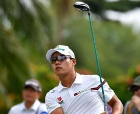 문도엽, 싱가포르오픈 선두에 3타차 4위로 우승 도전