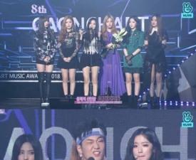 [2019 가온차트] (여자)아이들·김하온·스트레이키즈·아이즈원 신인상 영예