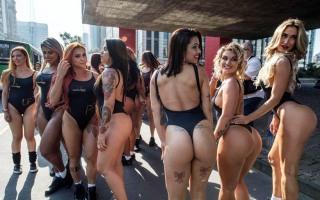 가장 예쁜 엉덩이를 찾아라!…브라질 미스 범범~~~