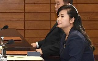 北 모란봉 악단장 현송월 입니다.~~~~