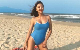 '성인돌' 나르샤, 아찔한 수영복 화보 공개