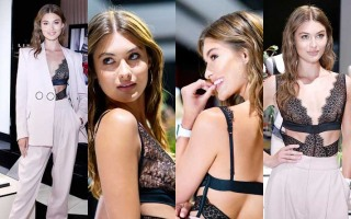 Victoria's Secret Angel Grace Elizabeth Debuts New Fall Collection