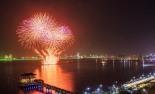 포항국제불빛축제 오는 31일 화려한 개막.....국내 최대 1㎞ 너비 불꽃쇼 장관 펼쳐