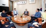 경북도의회 의장단…통합신공항 부지 선정, 군위·의성 결단 촉구
