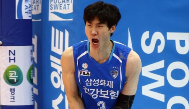 [V리그] 삼성화재, 한국전력에 시즌 첫 승