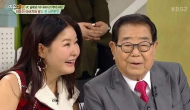 """[네티즌의 눈] 유지나 딸 삼은 송해, 실검 등장에 """"올리지마! 가슴 철렁했다"""""""