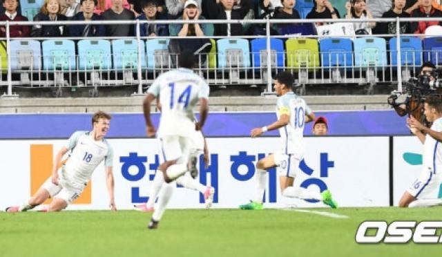 [U-20 월드컵] 한국, 잉글랜드에 0-1 패배,,,A조 2위로 16강 진출