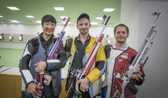 [삼순  데플림픽] 사격 최창훈, 10m 공기소총 첫 은메달