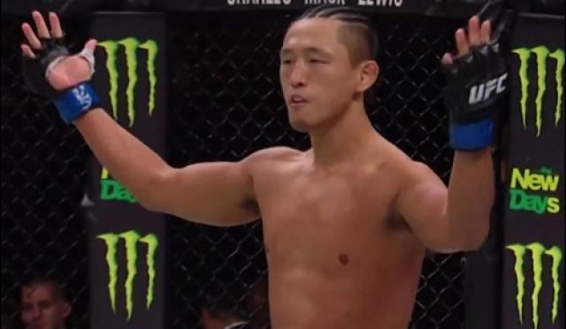 UFC 김동현, 고미 상대로 경기력 폭발…팬심도 덩달아 폭발