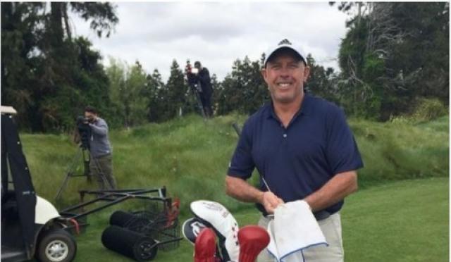 39년 경력 스티브 윌리암스의 LPGA투어 캐디 첫 도전