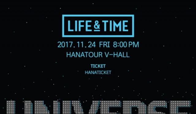 라이프 앤 타임, 보면 빠져든다...단독 콘서트 '유니버스' 개최