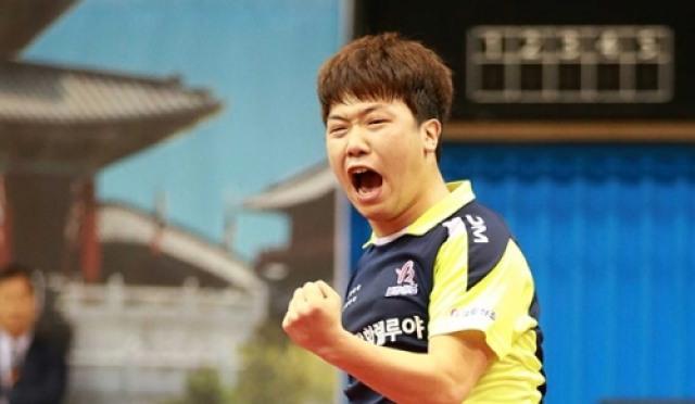 [탁구] 전국체전 남녀 일반부 최원진-최효주 정상