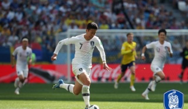[러시아WC] '아! VAR' .한국, 스웨덴에 0-1 패배