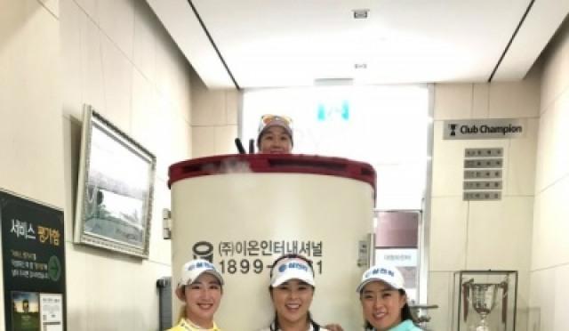 한국 골프계, '냉각 사우나' 크라이오 인기절정