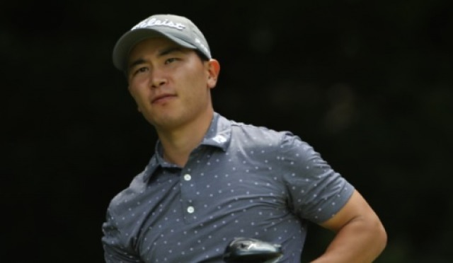 뉴질랜드 교포 고태욱, 동아회원권부산오픈 2R 선두