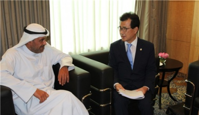 [자카르타 AG] 셰이크 하흐마드 회장 '아시아 무예의 세계스포츠화 돕겠다'