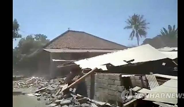 인도네시아 롬복, 불과 15일 만에…'이것'의 부활?