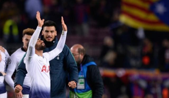 [UCL] 모우라 '만회골' 토트넘, 바르셀로나에 1-1 무승부