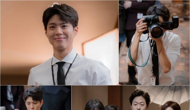 '남자친구' 카메라 든 박보검, 환한 미소 포착