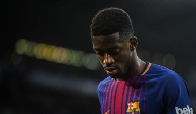 바르셀로나 뎀벨레, 발목 부상으로 전력에서 이탈
