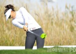 [포토뉴스] 미셸 위, '티샷할 때도 순간 기역자'