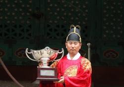 [한국오픈 특집]코오롱 제57회 한국오픈 포토콜 '우승컵을 든 양용은'