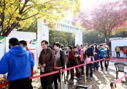 [한국오픈 특집]화창한 주말 한국오픈 '구름 관중'